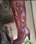 Брендовая обувь распродажа, зимние сапоги. Натуралка, натуральный лак. Новые, Мальчевская