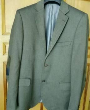 Куртка мужская двухсторонняя найк, пиджак Berto Lucci/Костюмы р.50