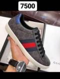 Зимние ботинки мужские кожаные, обувь gucci, Каспийск