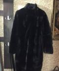 Шуба норковая, чёрная, женская одежда для мусульманок оптом, Мамоново