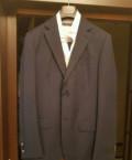 Мужские пиджаки италия, костюм meucci темно синий 46 (48) размер, Сергиевск