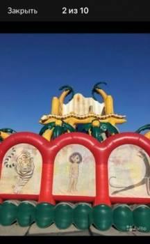Батут надувной Маугли