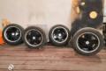 Японские кованные диски Zauber на хорошей зиме, купить колеса для опель астра, Благовещенск
