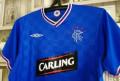 Мужская одежда kaizer, футболка Glasgow Rangers / Глазго Рэйнджерс, Гусев