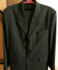 Мужской костюм, длинное пальто в пол мужское, Кардаилово