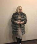 Шуба из песца, вязаное платье в горох бонприкс, Пермь