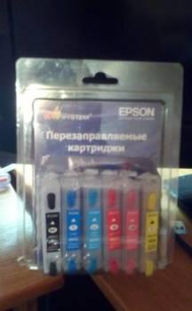 Перезаправляемые картриджи для Epson Stylus Photo