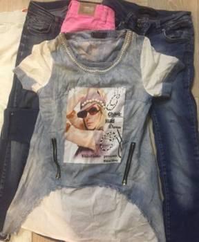 Вещи кофта - джинсы, джинсовая женская одежда из турции