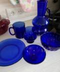 Посуда синяя, пиалы фарфор, Омск