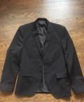 Пиджак черный, мужская куртка на весну, Екатеринбург