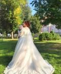 Свадебное платье 50-52 размер, зимнее шерстяное пальто с капюшоном, Тверь