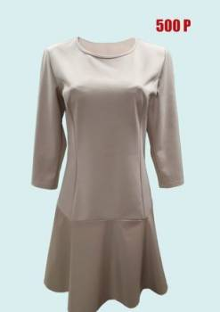 Женское нижнее белье дайна, платье беж