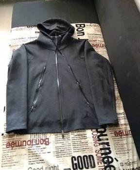 Рубашка в клетку oversize, куртка спортивная. Jordan. С капюшоном