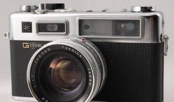 Пленочный фотоаппарат Yashica Electra 35