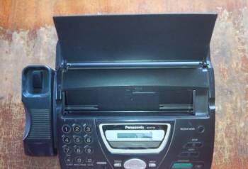 Факс Panasonic KX-FT74RU. Термобумага. Авторезак