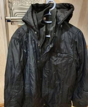 Куртка мужская, размер М, футболка с принтом t-429