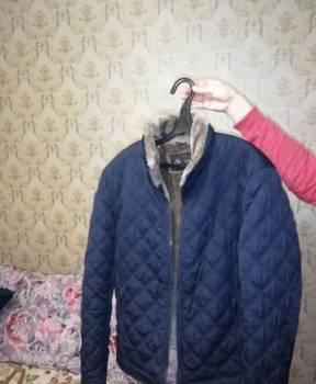 Куртка зимняя, мужские майки с длинным рукавом
