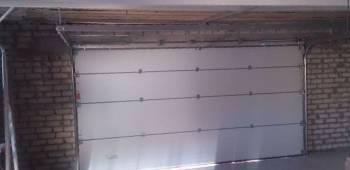 Ручные. Ворота Подъемные 40 мм Толщина Панели