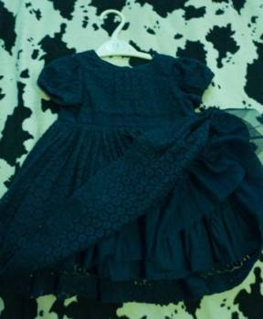 Платье элегантное +ободок ручной работы