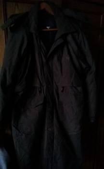 Пальто мужское зимнее, мужские плащи до колена