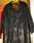 Мужская одежда в стиле авангард, куртка кожаная натуральная, мех натуральный, Рязань