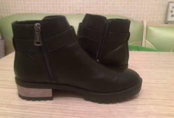 Д/с ботинки, кроссовки найк черные замшевые