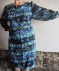 Норковая шуба черная короткая, платье 56р, Томск