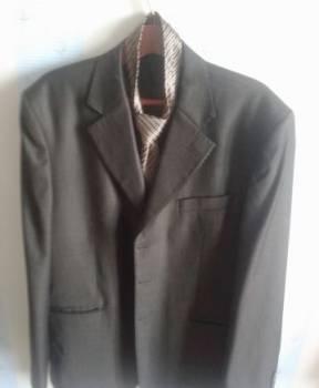 Мужское пальто на молнии с капюшоном, пиджак