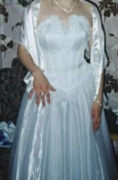Шуба из чернобурки поперечка купить, продам белое платье