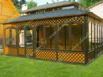 Производство беседок, пергол и садовой архитектуры