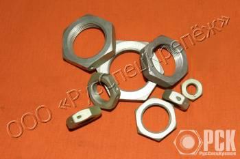 Гайка ГОСТ 13958-74 стальная и алюминиевая
