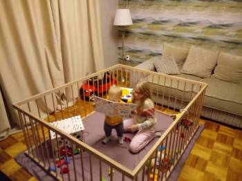 Детские манежи по доступным ценам